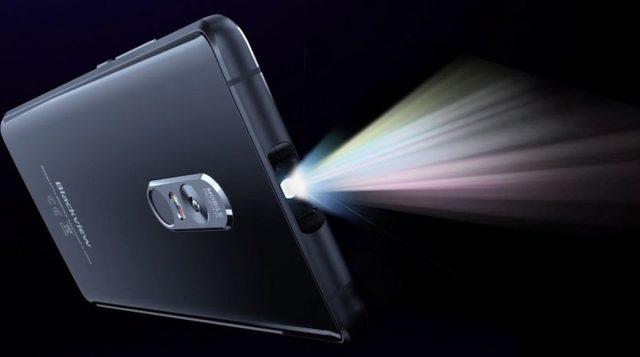 Смартфон с проектором