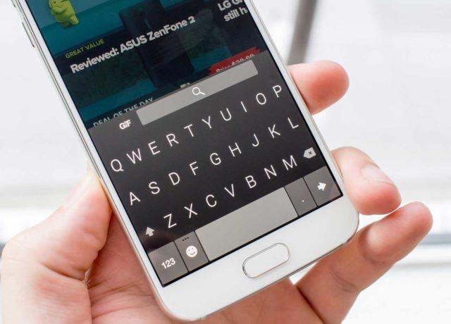 Виртуальная клавиатура на смартфоне