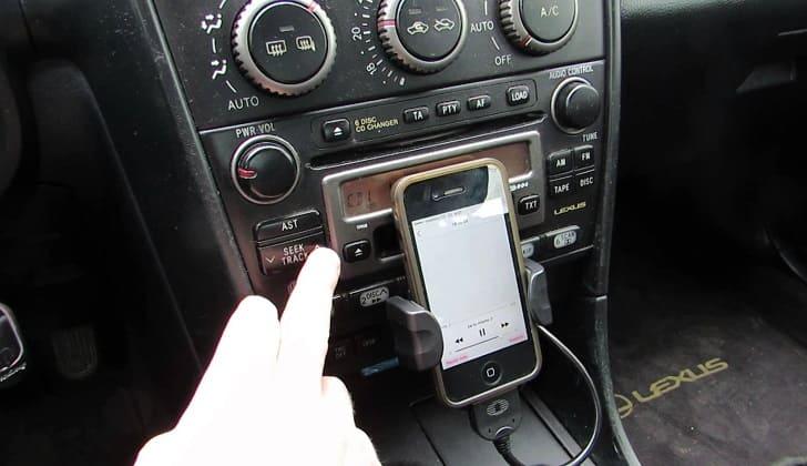 Подключение айфона к магнитоле