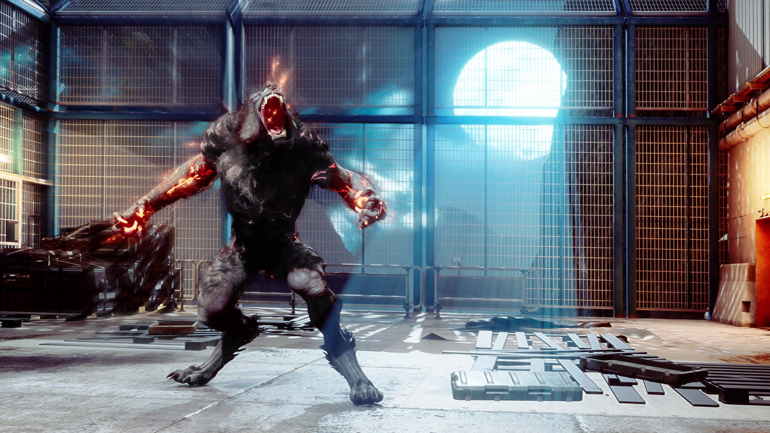 Кадр из игры Werewolf
