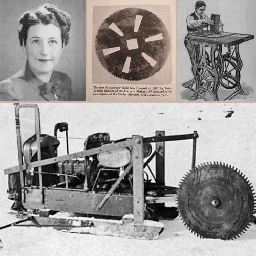 Ткачиха Таббита Бэббит и ее разработка циркулярной пилы