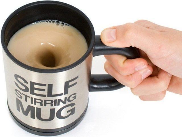 Кружка-нагреватель для кофе