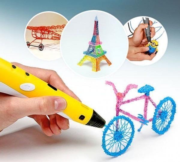 3-D ручка и изделия из нее