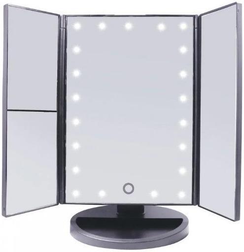 Трехстворчатое сенсорное зеркало