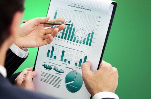 Анализ данных по графикам и диаграммам