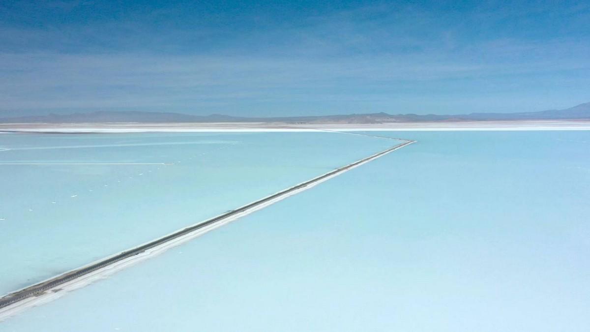 Боливийский солевой карьер
