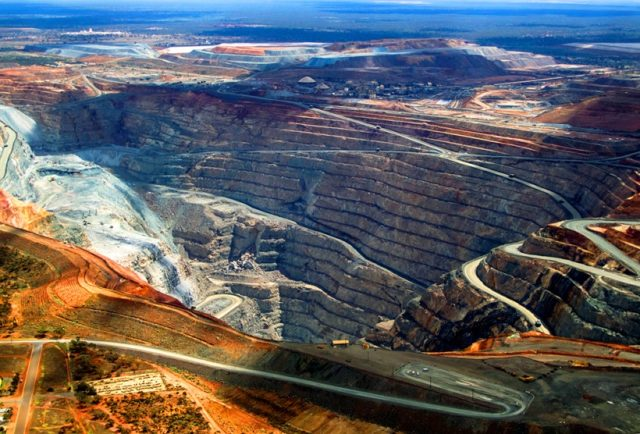 Золотой рудник Калгурли