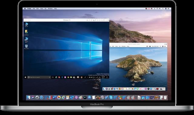 Parallels Desktop на Macbook Pro