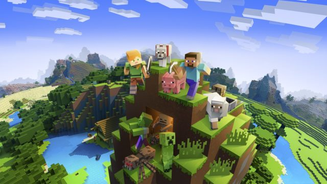 Мир Minecraft