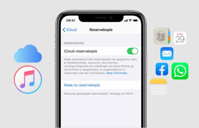 Включение сервиса iCloud на iPhone