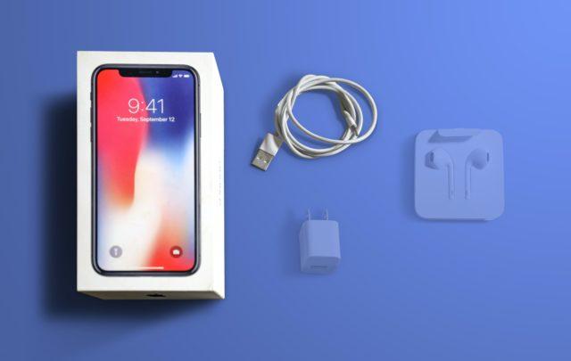 Набор комплектующих нового iPhone