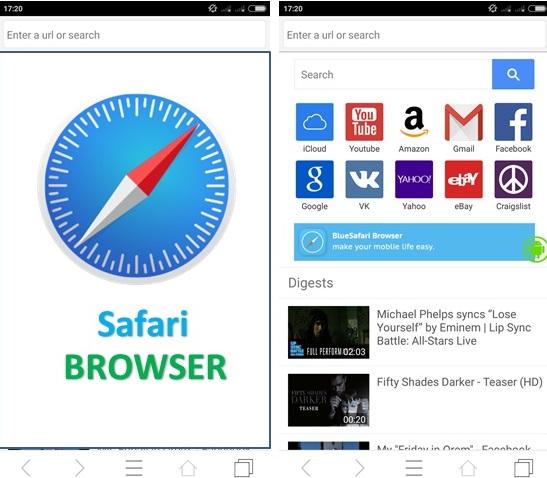 Загрузчик браузера Safari