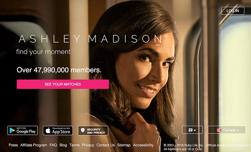 Приложение Ashley Madison