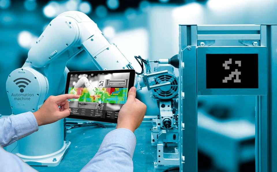 Управление роботом с планшетного ПК
