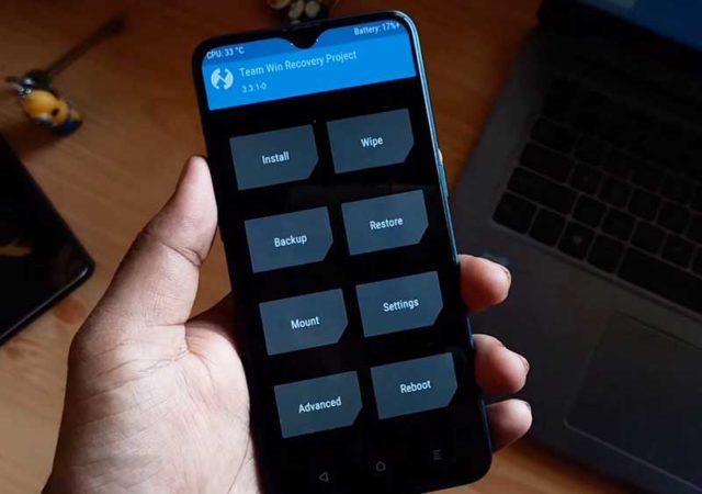 TWRP Recovery в смартфоне