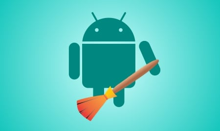 Android с метлой