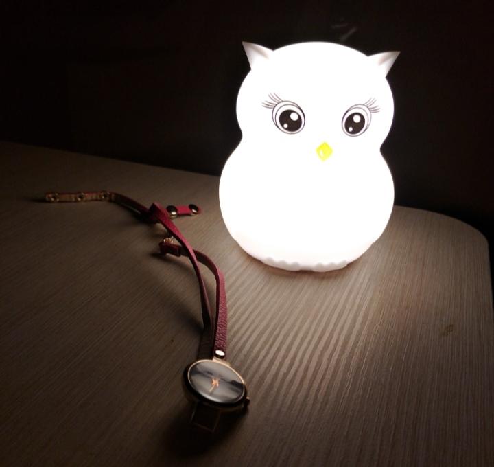 детский светильник сова