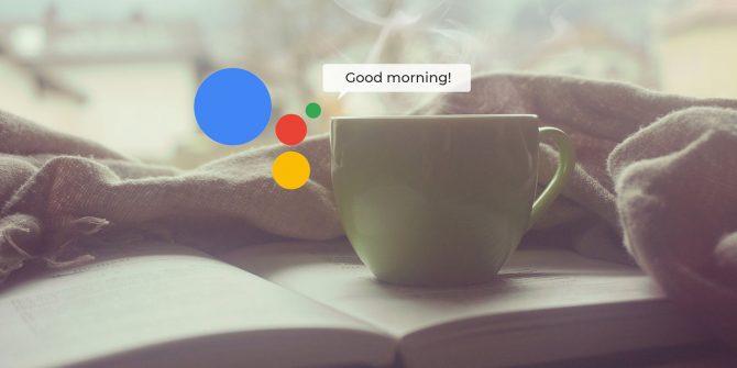 """Чашка кофе и надпись """"Good morning!"""""""