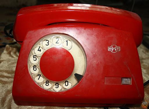 Советский телефонный аппарат