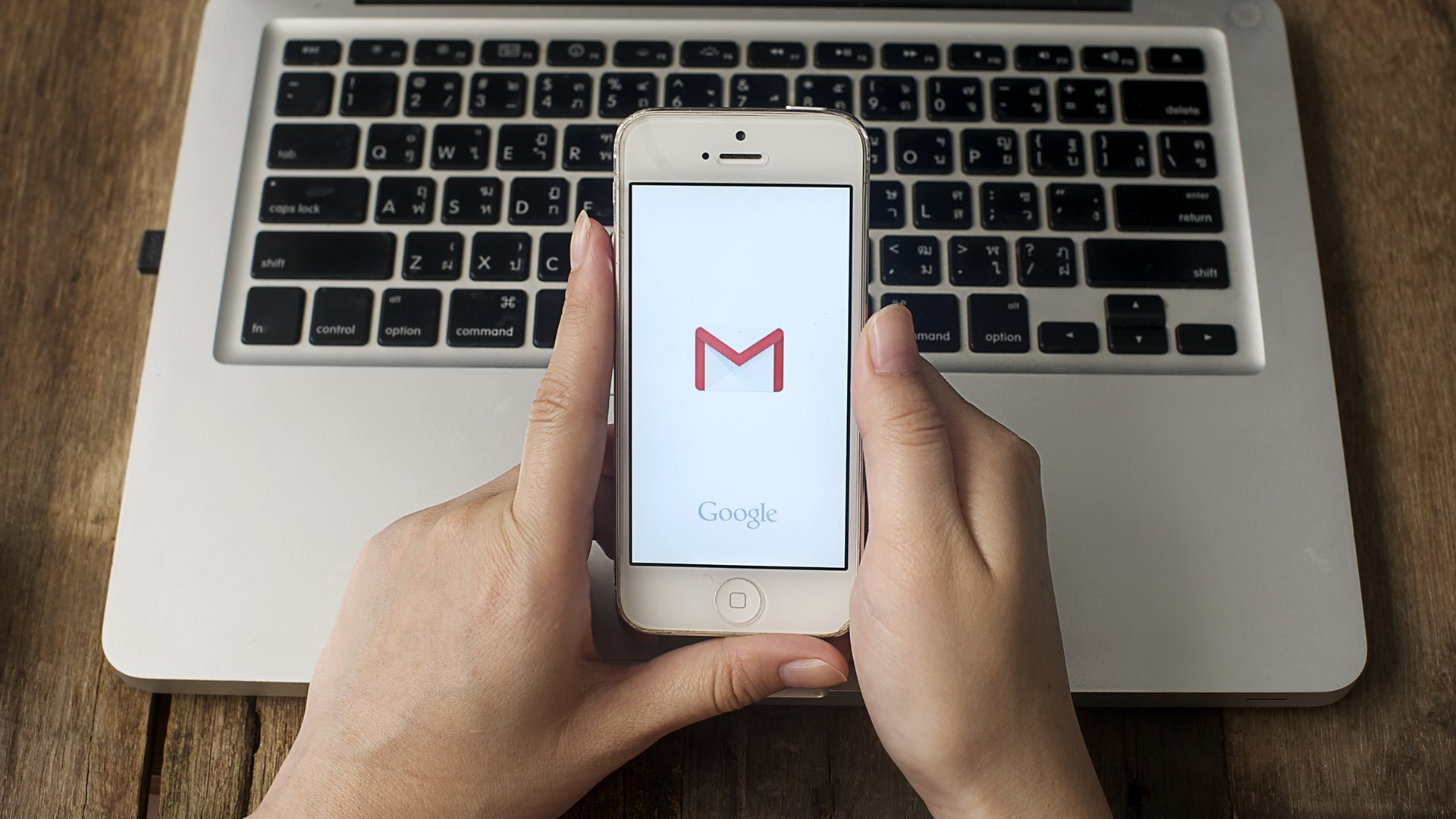 Телефон с gmail