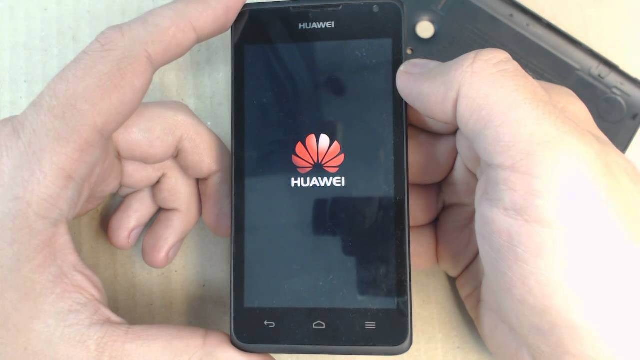 Huawei в руках