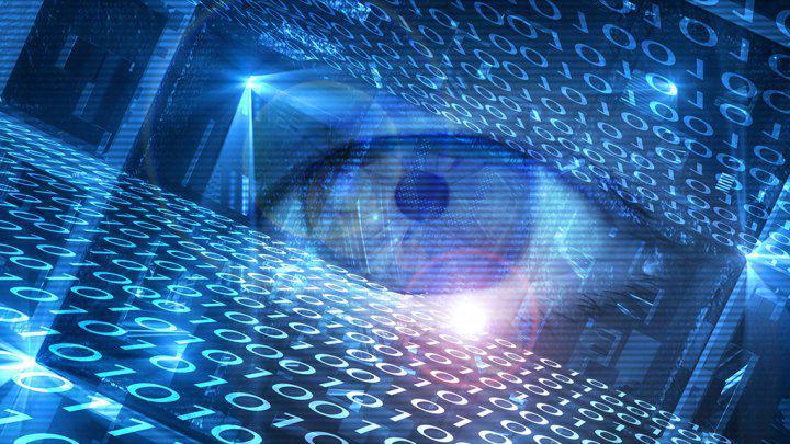 Глаз в виртуальном пространстве