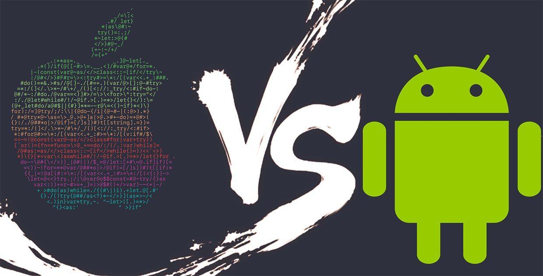 Логотип Apple и Android