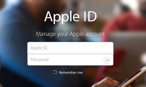 Авторизация в Apple ID