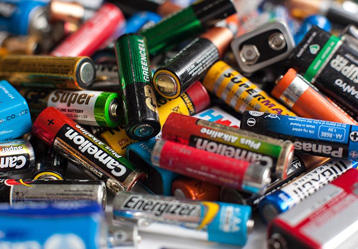 Груда батареек