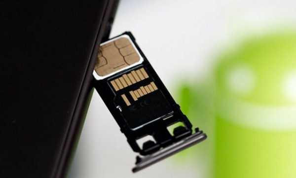 Торчащий из телефона слот под карту памяти